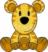 Animal,Tiger,Cartoon,Cute,Z...