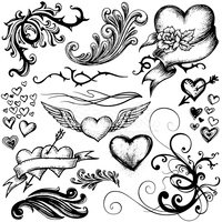 Heart Shape,Wing,Valentine'...
