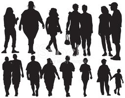 Silhouette,Couple,People,Ch...