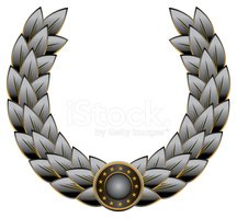 Laurel Wreath,Seal - Stamp,...