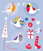 Snow,Christmas,Bird,Robin,P...