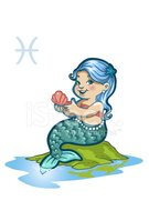 Mermaid,Astrology Sign,Pisc...