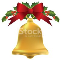 Bell,Christmas,Bow,Red,Gold...