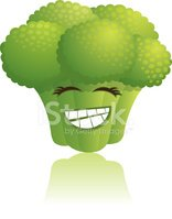 Vegetable,Cartoon,Broccoli,...
