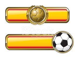 Soccer,Spain,Badge,Laurel W...