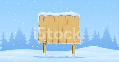 Wood - Material,Sign,Snow,W...
