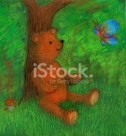 Teddy Bear,Drawing - Art Pr...