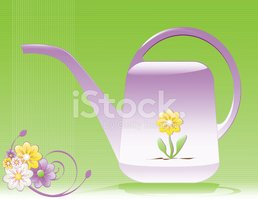 Watering Can,Flower,Floral ...