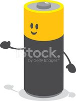 Battery,Characters,Vector,O...