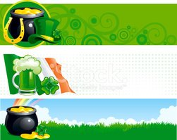 St. Patrick's Day,Banner,Ir...