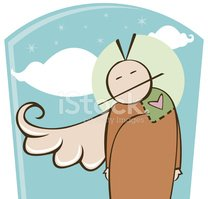 Angel,Religion,Cartoon,Spir...