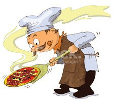 Pizza,Chef,Cartoon,Cooking,...