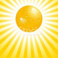 Disco Ball,Sunbeam,Sun,Oran...