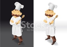 Chef,Spoon,Vector,Food,Male...