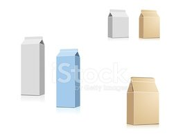 Drink boxes (VECTOR)