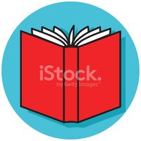 Book back. Open icon stock vectors