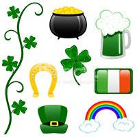Clover,Rainbow,Irish Cultur...