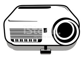 data projector stock vectors clipart me rh clipart me projector clipart pictures lcd projector clipart