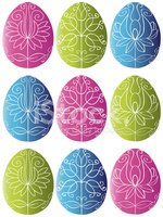 Easter,Decor,Pattern,Cultur...