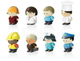 Occupation,Chef,Cartoon,Nur...