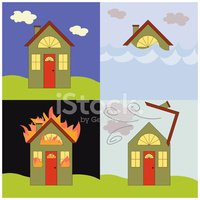 House,Fire - Natural Phenom...