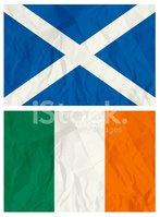 Scottish Flag,Irish Flag,Sc...