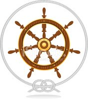 Nautical Vessel,Helm,Wheel,...