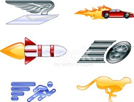 Speed,Symbol,Rocket,Cheetah...