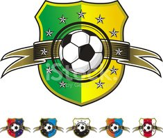 Soccer,Coat Of Arms,Insigni...