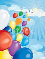 Balloon,Hope,Birthday,Sky,F...