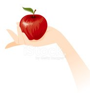 Apple - Fruit,Human Hand,Ho...