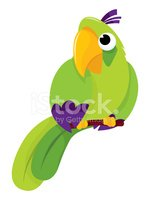 Parrot,Cartoon,Bird,Pets,Pa...