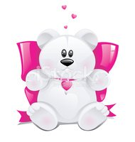 Teddy Bear,Cute,Pink Color,...