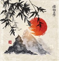 Nature,Asia,Ink,East,Tree,B...