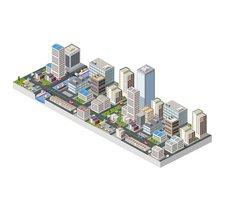 Computer Graphics,Town,City...