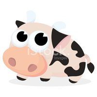 Cow,Cartoon,Animal,Farm,Hum...