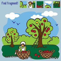 game find fragment picking apples