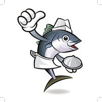 The best top chef Tuna Fish Character.