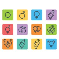 Sexual orientation icons