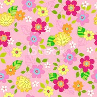 Seamless,Flower,Pattern,Sum...