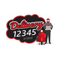 Delivery man courier service