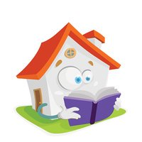cartoon character mascot isolated sweet home