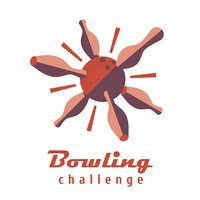 Bowling vector template