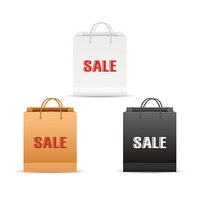 Shopping bag with sale