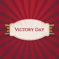 Victory Day. Realistic Holiday Banner Template
