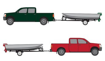 Boat Trailer and Pickup stock vectors - Clipart.me