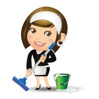 Cleaner,Domestic Staff,Clea...