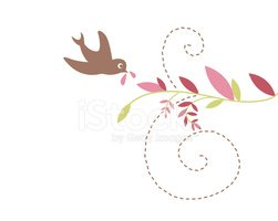 Dove - Bird,Bird,Pink Color...
