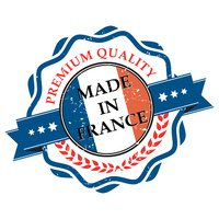 Made in France grunge printable label.