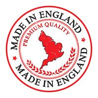 Made in England grunge printable label.